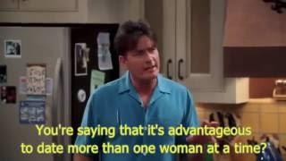 #twoandahalfmen Почему выгодно встречаться сразу с несколькими женщинами