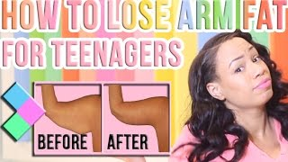 How to Lose Arm Fat for Teenagers