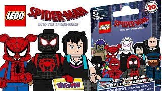 LEGO Spider-Man: Into the Spider-Verse Minifigures - CMF Draft!