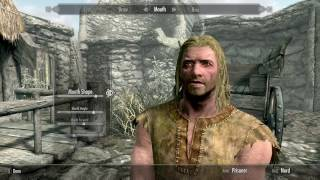 Skyrim- How to make the trailer dragonborn
