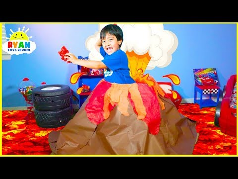Xxx Mp4 How Do Volcano Erupt Educational Video For Kids With Ryan ToysReview 3gp Sex