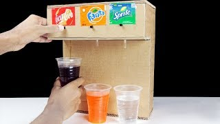 How to Make Coca Cola Fountain Machine with 3 Different Drinks at Home
