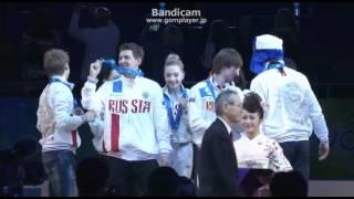 WTT2015 Victory ceremony