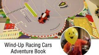 Wind-Up Racing Cars Interactive Adventure Book