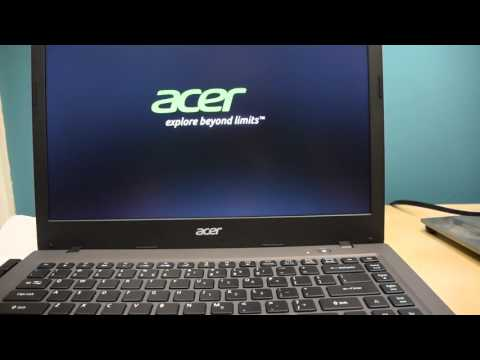 Acer Aspire One Cloudbook, 14-Inch HD, Windows 10 (Unboxing)