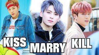 KPOP KISS MARRY KILL male idols