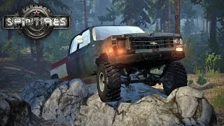 Spin Tires MP with Mods #15 - Off-Road Challenge