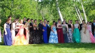 Prom 2017-pics by the stream