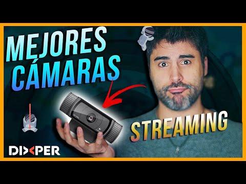 📹¿MEJORES CÁMARAS para EMPEZAR en STREAMING 🔥📷 Twitch Youtube Dixper