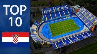 Top 10 Biggest Stadiums in Croatia