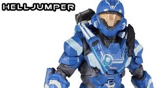 McFarlane Halo 5 HELLJUMPER SPARTAN Figure Review