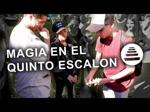 MAGIA EN EL QUINTO ESCALON