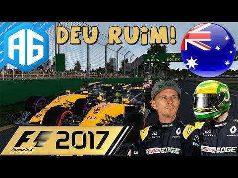 F1 2017 #21 GP DA AUSTRÁLIA - FOI UMA ESTREIA CONTURBADA NA RENAULT (Português-BR)