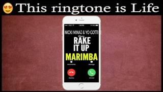Latest iPhone Ringtone - Rake It Up Marimba Remix Ringtone - Nicki Minaj & Yo Gotti