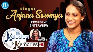 Singer Anjana Sowmya Exclusive Interview    Melodies And Memories #19