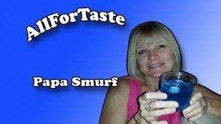 Papa Smurf Cocktail
