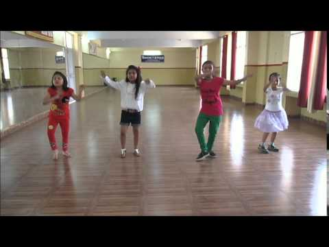 Learn Bhangra dance steps for kids by Rockstar academy chandigarh india