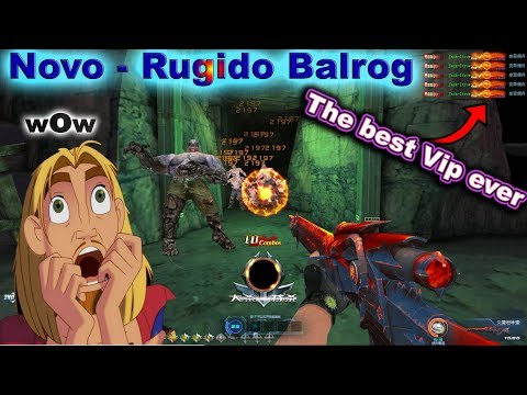 Blood Strike : Novo Rugido Balrog : Extreme  Vip Version !!😲  Bs Chinese