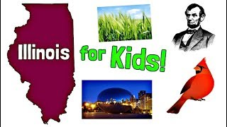 Illinois for Kids   US States Learning Video