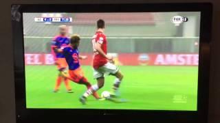 Tony Vilhena Geweldige Goal AZ- Feyenoord