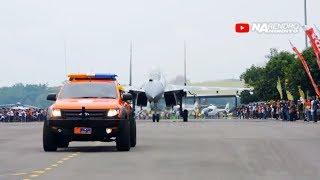 Dikawal!! Pesawat tempur TERBESAR di Indonesia | Sukhoi Su-30 Flanker Fighter