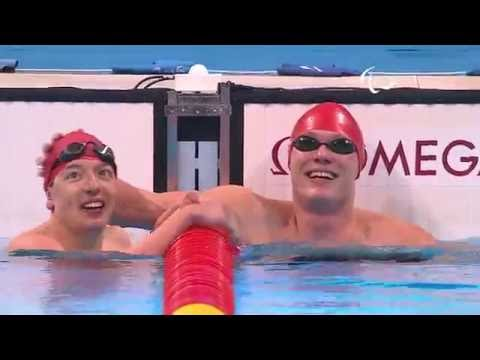 Swimming | Men's 100m Breaststroke SB14 final | Rio 2016 Paralympic Games