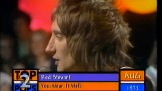 Download Rod Stewart Feat. Faces - You Wear It Well - TOTP2 1972