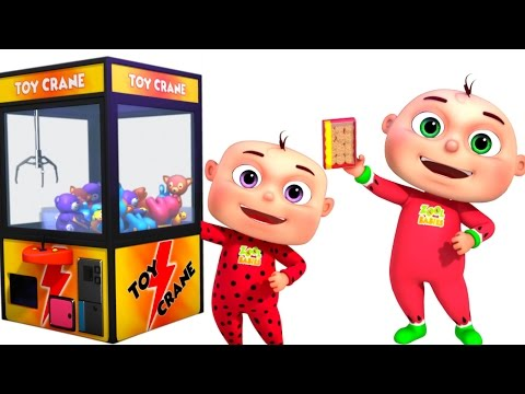 Five Little Babies Playing Claw Machine Nursery Rhymes Collection Kids Songs & Baby Rhymes