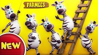 Zebra Finger Family | Nursery Rhymes Farmees | Kids Songs | Children Rhymes