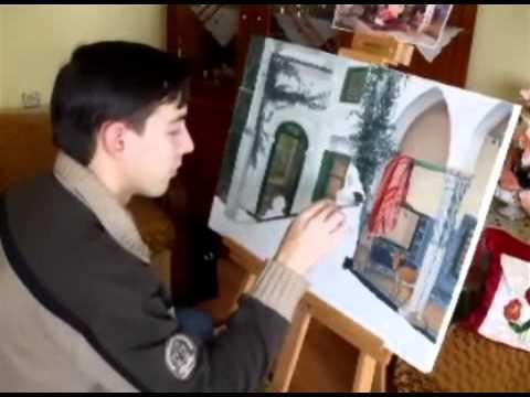 amatör yağlı boya tablo