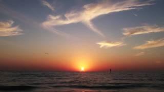 Majestic Ocean Time - Lapse sunset  HD