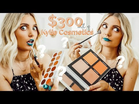 Testing 300 Worth of Kylie Cosmetics Aspyn Ovard