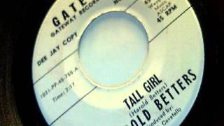 tall girl - harold betters - gateway 1966