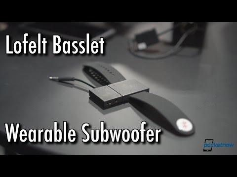 A Wearable Subwoofer Lofelt Basslet Hands On CES 2017