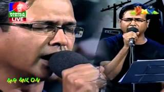 Ekhono Majhe Majhe -By- Asif Akbar [Banglavision Live]