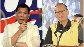 Duterte, hinamon si Pnoy na sibakin ang mga dawit sa 'tanim-bala'