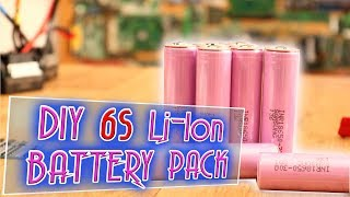 Homemade 6S Battery Pack with BMS