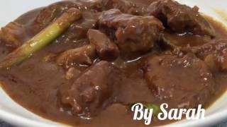 Resep dan Cara memasak Rendang daging Kambing #RESEP MASAKAN INDONESIA