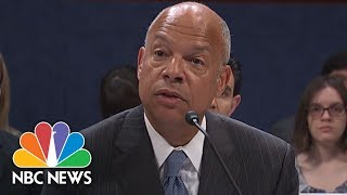 Former DHS Secy.: Vladimir Putin Orchestrated Election Cyber Attacks, 'Plain And Simple'   NBC News