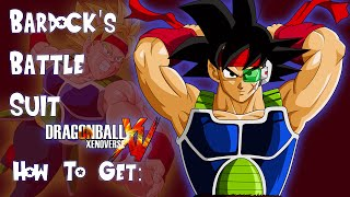 Dragon Ball Xenoverse - How To Get Bardock's Battle Suit