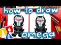 How To Draw Omega Skin Fortnite Skin (cartoon)