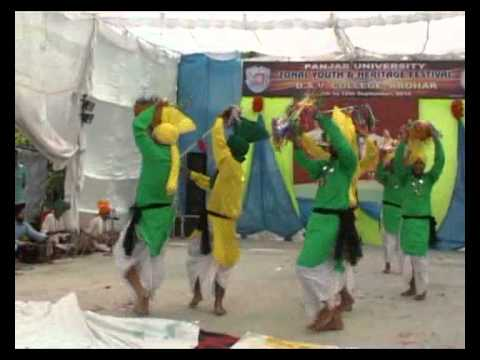 DAV COLLEGE, ABOHAR DANCE AT YOUTH FEST AT ZONE LEVEL