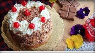 ব্ল্যাক ফরেস্ট কেক || Bangladesi Black Forest Cake || Decoration Cake Recipe Bangladeshi || Cake