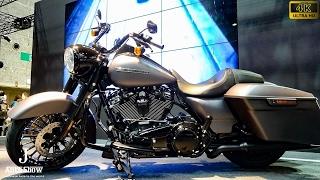 (4K)Harley-Davidson road king special 2017 ハーレーダビッドソン・ロードキングスペシャル - 大阪モーターサイクルショー2017