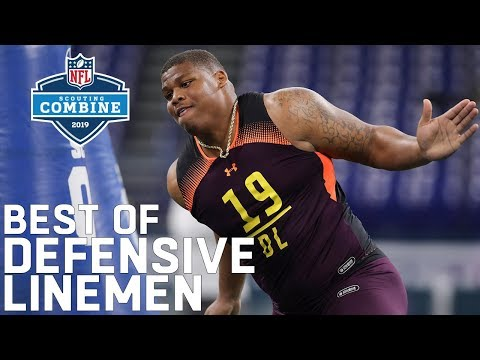 Best of Defensive Linemen Workouts 2019 NFL Scouting Combine Highlights
