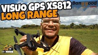 DRONE VISUO GPS XS812 LONG RANGE E TESTE DE CÂMERA