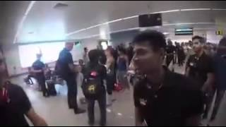 Mustafizur Rahman and Trent Boult funny moment {Must Watch}