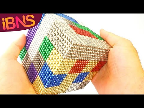 Playing with 10000 mini magnetic balls! (Oddly Satisfying, ASMR & 10000 buckyballs!)