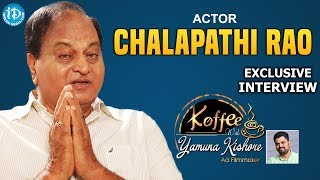 Chalapathi Rao Uncovered    Exclusive Interview    Koffee With Yamuna Kishore #17    #396