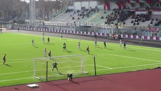 RIMINI Vs Pontedera  Goal Polidori 1-0